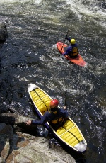 Fall Travel Assignments: kayakers